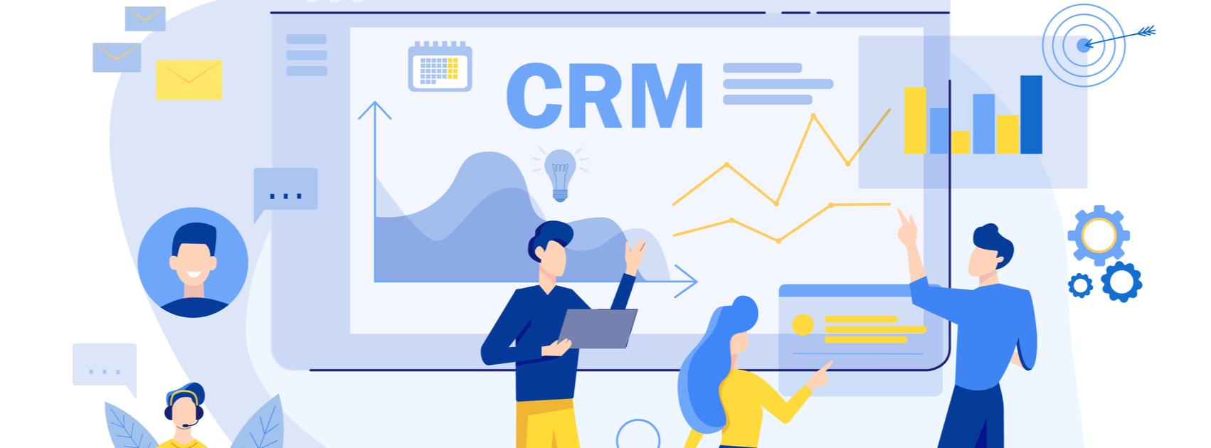 Kako lahko CRM olajša delo od doma?