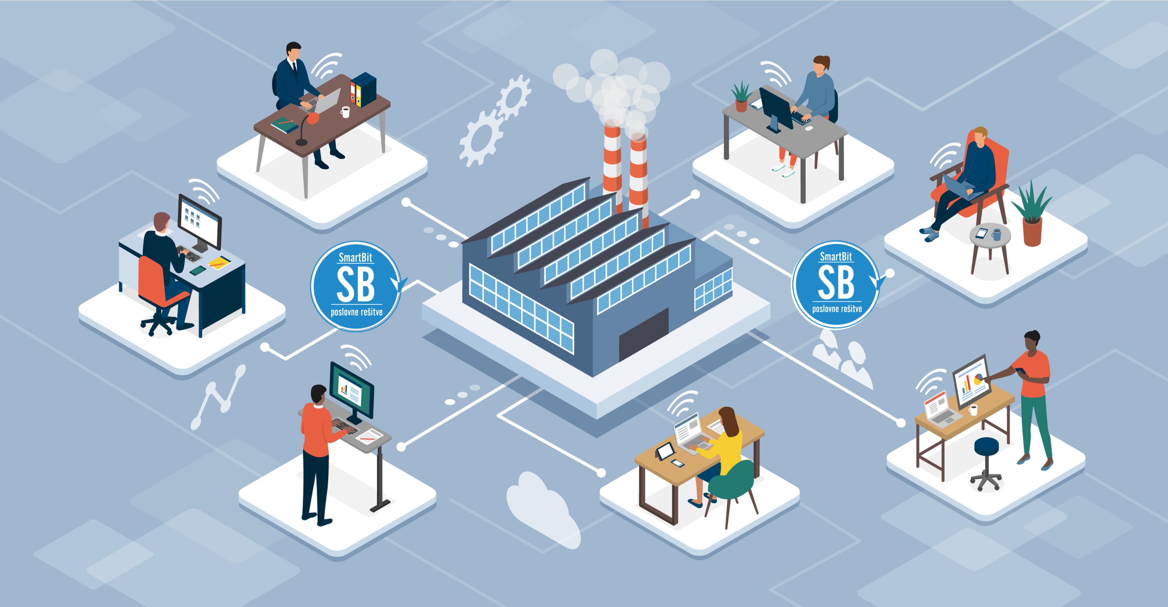 Upravljanje celokupnim proizvodnim procesom s MES@SmartBit